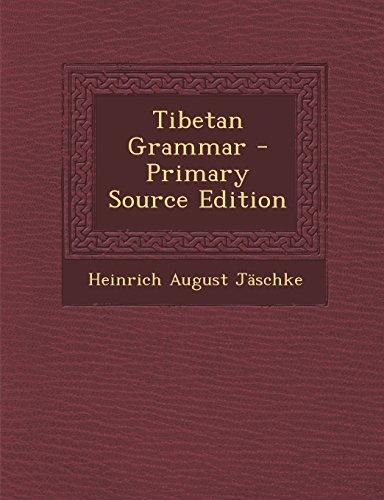 9781295831791: Tibetan Grammar
