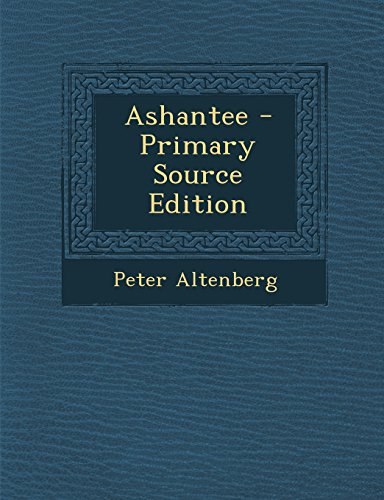9781295832774: Ashantee (German Edition)