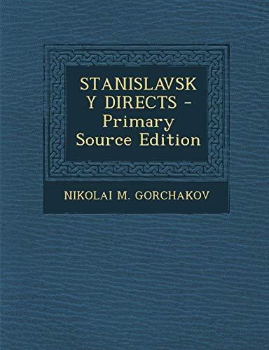 9781295833863: STANISLAVSKY DIRECTS