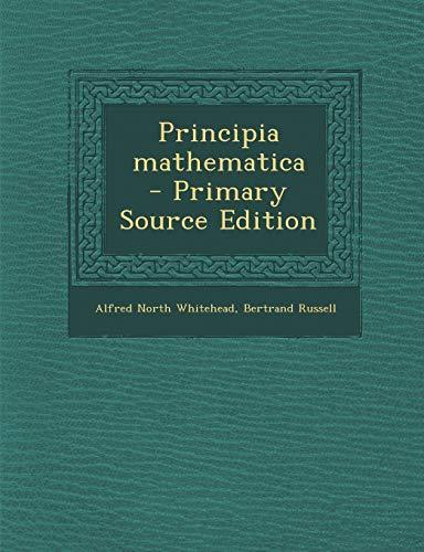 9781295834648: Principia mathematica