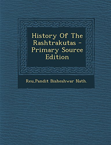 9781295839797: History Of The Rashtrakutas