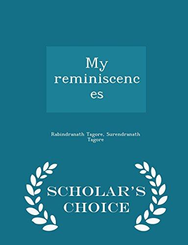 9781295982370: My reminiscences - Scholar's Choice Edition