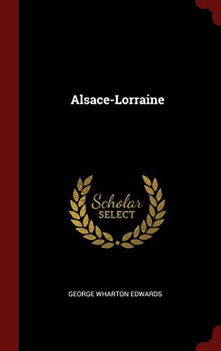 9781296496814: Alsace-Lorraine