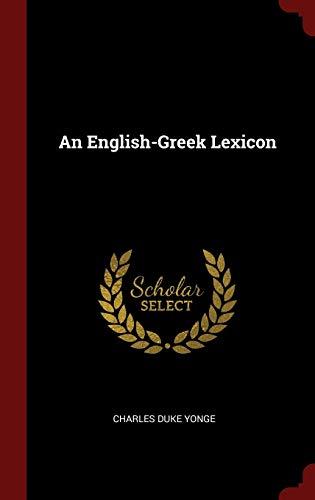 9781296497811: An English-Greek Lexicon