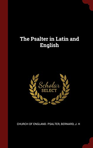 The Psalter in Latin and English: Church of England