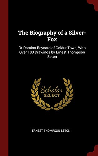 9781296525910: The Biography of a Silver-Fox: Or Domino Reynard of Goldur Town, With Over 100 Drawings by Ernest Thompson Seton