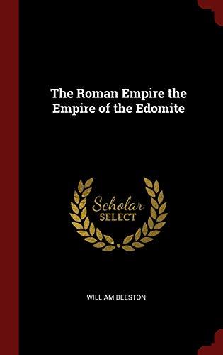 9781296529857: The Roman Empire the Empire of the Edomite