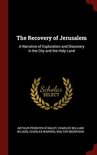 9781296535643: The Recovery of Jerusalem: A Narrative of Exploration and Discovery in the City and the Holy Land