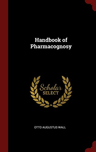 9781296539016: Handbook of Pharmacognosy