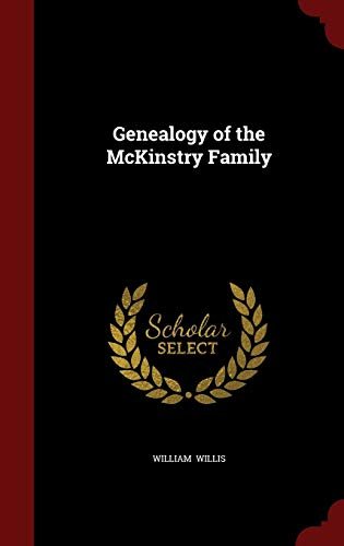 9781296553371: Genealogy of the McKinstry Family