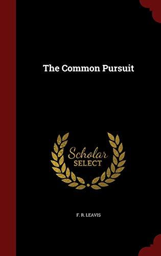 9781296576127: The Common Pursuit