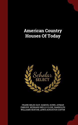 9781296579821: American Country Houses Of Today