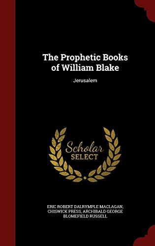 9781296641849: The Prophetic Books of William Blake: Jerusalem