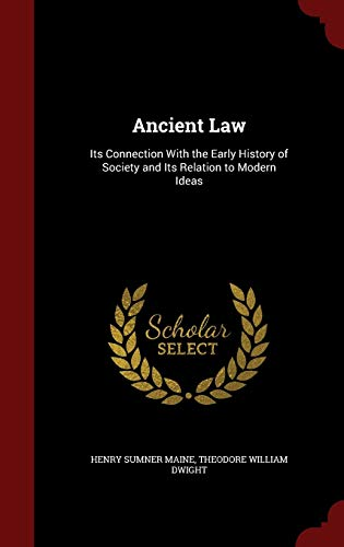 9781296653668: Ancient Law: Its Connection With the Early History of Society and Its Relation to Modern Ideas