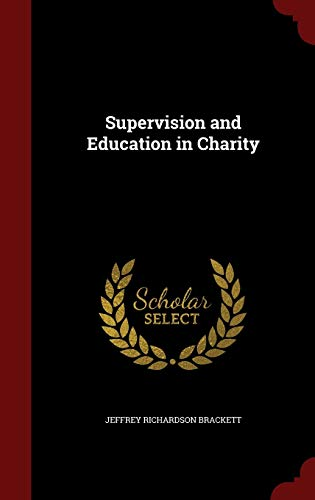 9781296697877: Supervision and Education in Charity