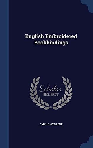 9781296865856: English Embroidered Bookbindings