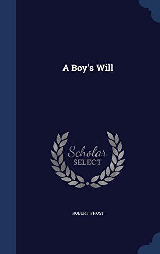 9781296868987: A Boy's Will