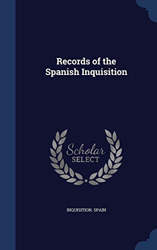 9781296875107: Records of the Spanish Inquisition