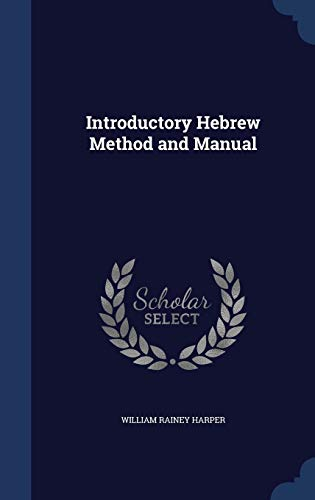 9781296883966: Introductory Hebrew Method and Manual