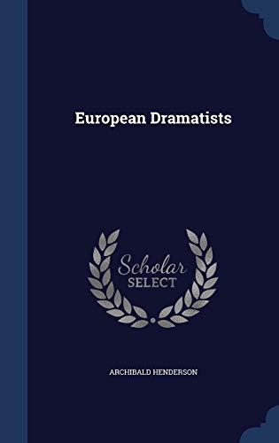 9781296906757: European Dramatists