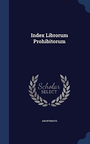 9781296988586: Index Librorum Prohibitorum