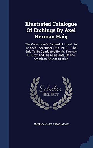 Illustrated Catalogue of Etchings by Axel Herman: American Art Association