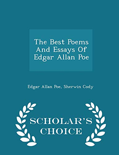 best poems essays edgar allan poe abebooks the best poems and essays of edgar edgar allan poe