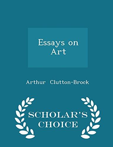 9781297064371: Essays on Art - Scholar's Choice Edition