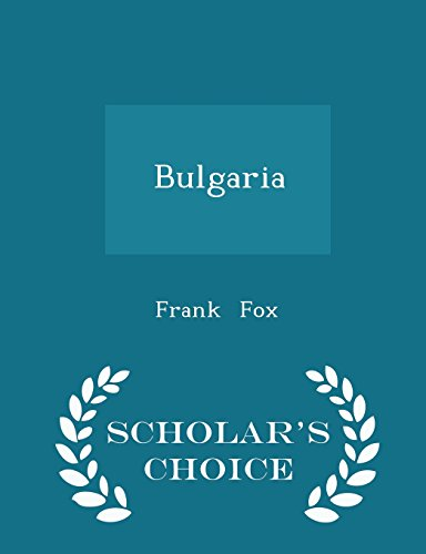 9781297068188: Bulgaria - Scholar's Choice Edition