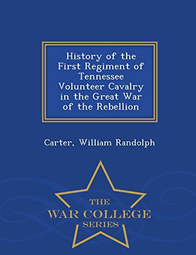 History of the First Regiment of Tennessee: Carter William Randolph