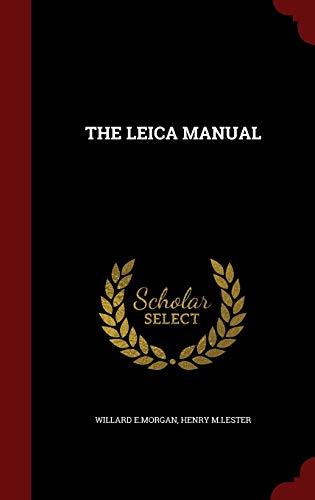 9781297500510: THE LEICA MANUAL