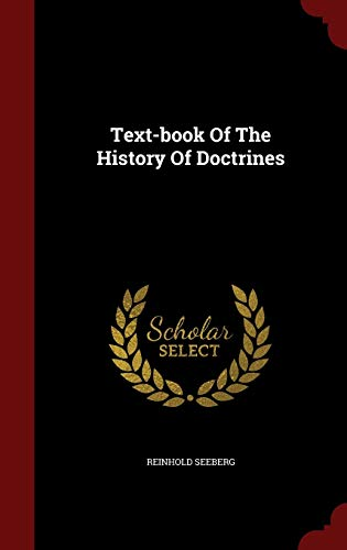 9781297545030: Text-book Of The History Of Doctrines
