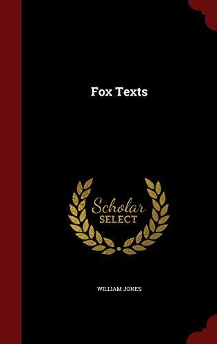 9781297555190: Fox Texts