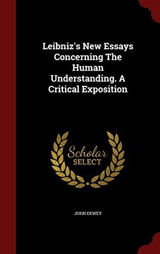 9781297616655: Leibniz's New Essays Concerning The Human Understanding. A Critical Exposition