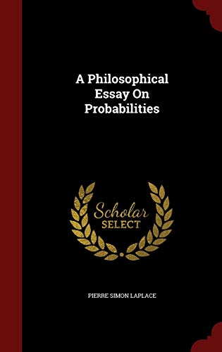 9781297641763: A Philosophical Essay On Probabilities