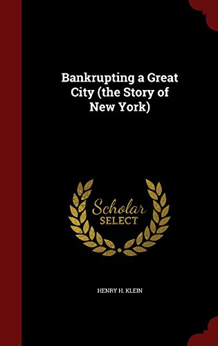 9781297761706: Bankrupting a Great City (the Story of New York)