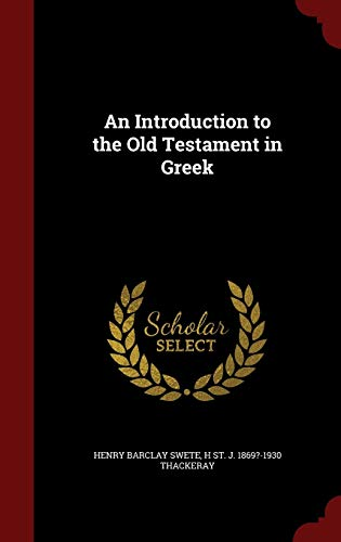 9781297794124: An Introduction to the Old Testament in Greek