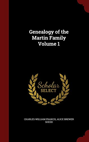 9781297811258: Genealogy of the Martin Family Volume 1