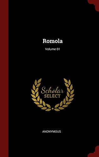 9781297812156: Romola; Volume 01