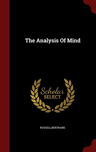 9781297820359: The Analysis Of Mind