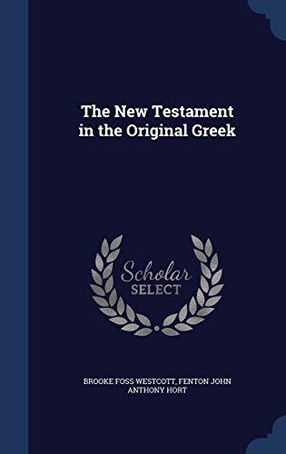 9781297921124: The New Testament in the Original Greek