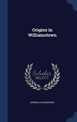 9781297933455: Origins in Williamstown