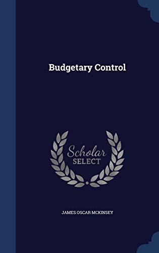 9781297948923: Budgetary Control