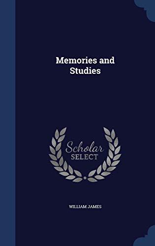 9781297952968: Memories and Studies