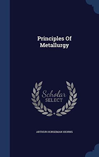 9781297989315: Principles Of Metallurgy