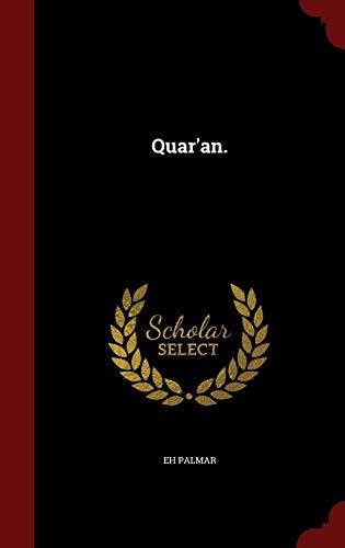 9781298509635: Quar'an.