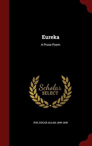 9781298522238: Eureka: A Prose Poem