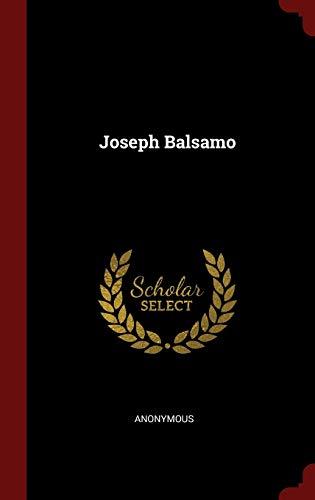 9781298537997: Joseph Balsamo