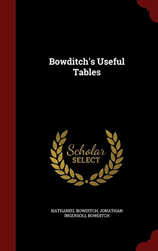 9781298729538: Bowditch's Useful Tables