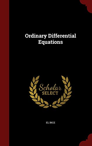 9781298738868: Ordinary Differential Equations